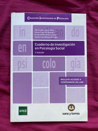 Cuaderno de investigación PSICOLOGÍA SOCIAL UNED