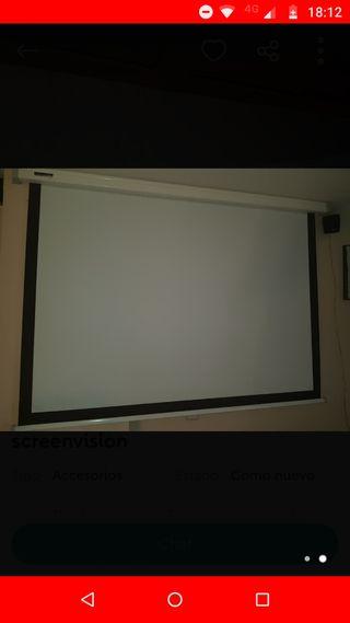 Pantaya de proyección screenvision