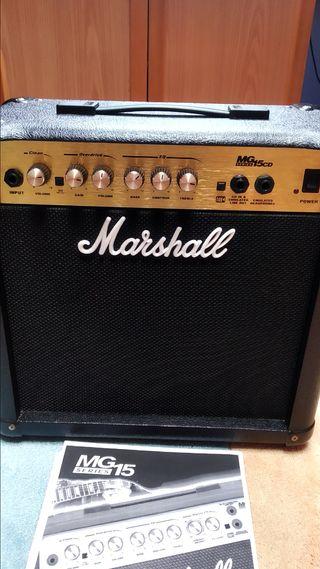 Amplificador Marshall MG15CD