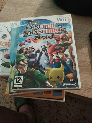 Smash Bros Wii