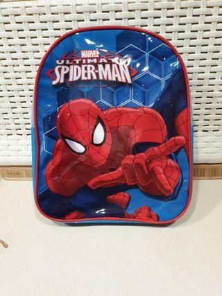 Mochila infantil merienda guardería Spiderman