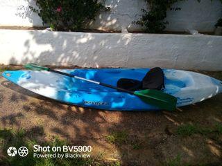 Kayak rigido para una persona