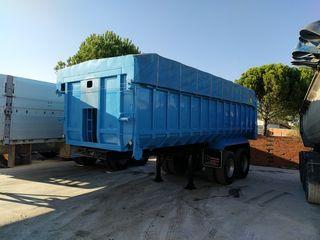 bañera semirremolque camión montenegro