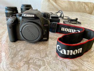 Cámara digital canon 500D