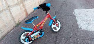 Bicicleta Patrulla Canina con Ruedines