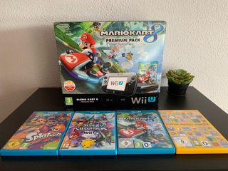 Wii U + 4 Juegos