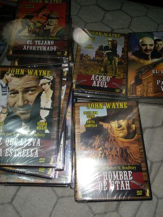 22 películas (dvd)Western , películas del oeste ,