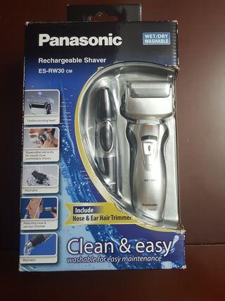 Maquinilla de afeitar y recortadora Panasonic