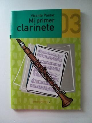 Vicente Pastor mi primer clarinete 3