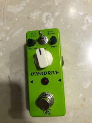 Pedal guitarra Overdrive