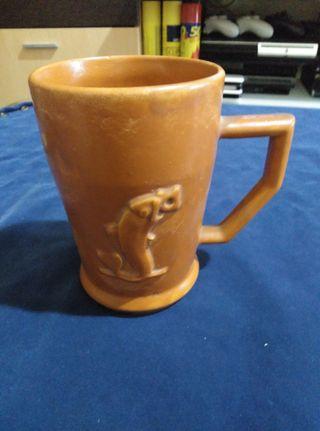 jarra de cerámica Orval.