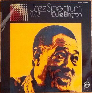 "DUKE ELLINGTON ""JAZZ SPECTRUM VOL: 13"" LP"