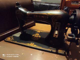 Maquina de Coser Gritzner fabricada en 1872