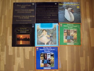Lote 48 discos vinilo de música Clásica.
