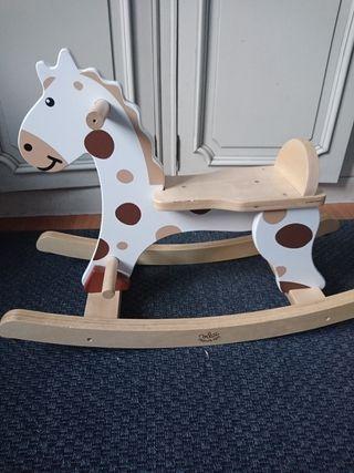 balancín caballo madera vilac