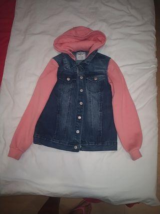 chaqueta tejana niña