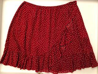 Falda de tela corta de Brandy Melville