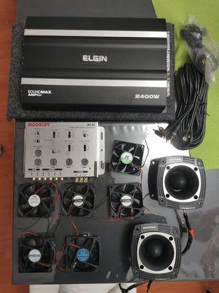 Amplificador para coches