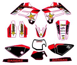 Kit de adhesivos Gas Gas 2002-2006 EC, MX