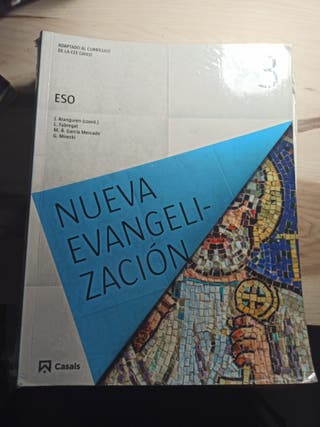 Libro de religión de 3° de la ESO