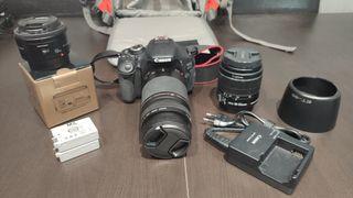 Canon EOS 600D + accesorios