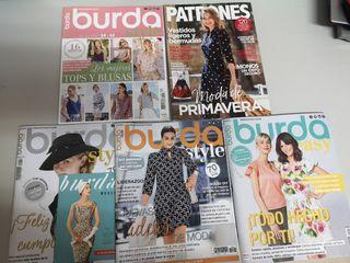 lote revistas de Burda