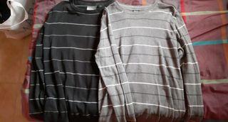 Dos jerseys de lineas de Smog