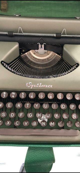 1959 OPTIMA P 1 Rara máquina de escribir