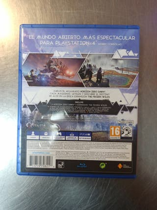 Horizon Zero Dawn, PS4