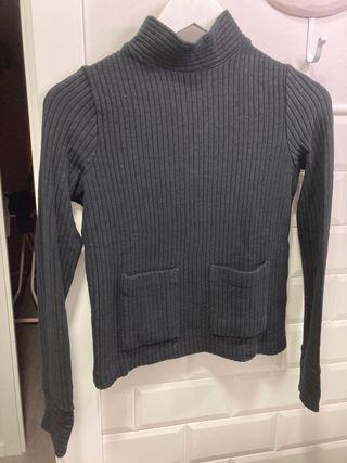 Jersey Zara bolsillos