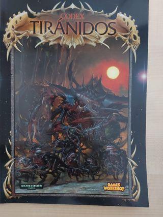 Codex Tiránidos Warhammer 40000