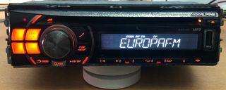 RADIO ALPINE USB MP3 Y CD