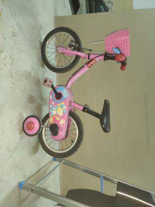Bicicleta niños pequeños