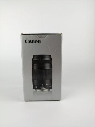 Canon EF 75-300 y Parasol