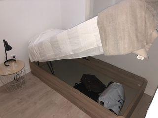 Canapé abatible + colchón 190 x 90