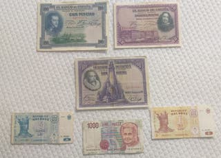 Colección de billetes