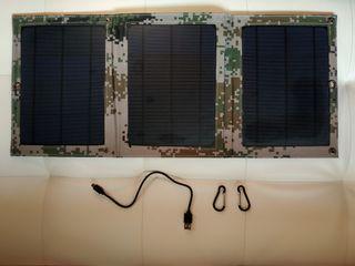 Cargador solar portátil 15W