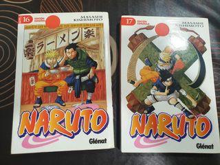 manga Naruto 16 y 17