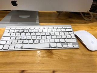 Keyboard y mouse Bluetooth Apple