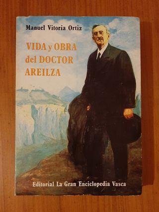 libro antiguo vida Doctor Areilza