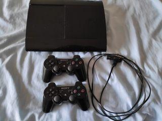 PlayStation 3 + mandos + juegos