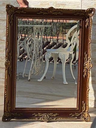 espejo antiguo salon
