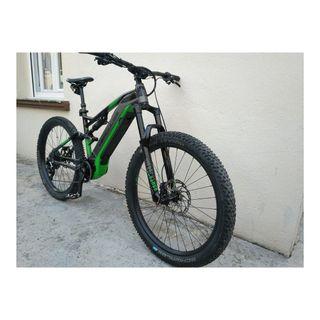 Bici eléctrica e-MTB HÉRCULES NOS FS 8K PRO DI2