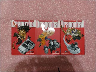 pack comics dragón ball ultimate edition 1,2,3