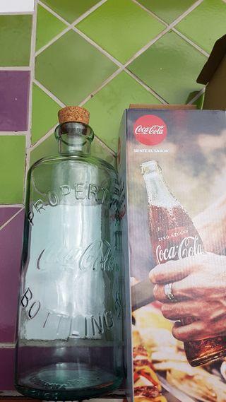 Botella cristal vintage COCA COLA NUEVA