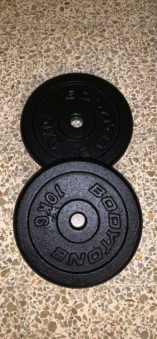 Juego discos 10 kg