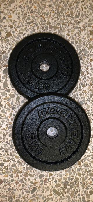 Juego discos 5 kg