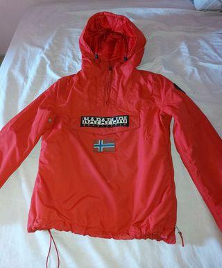 chaqueta roja napapijiri