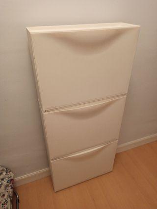 Zapatero blanco Ikea TRONES
