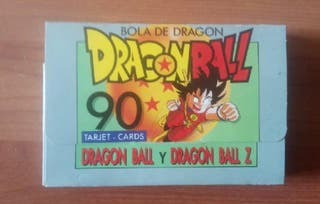 Dragon ball son goku cromos cartas